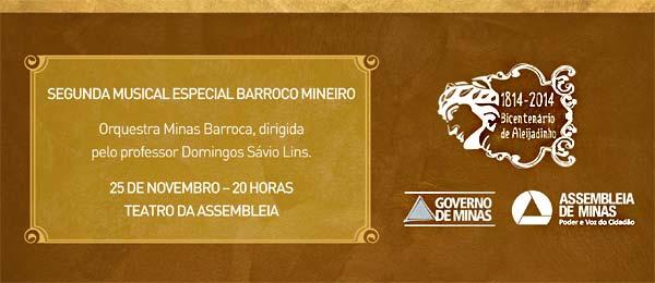 Segunda Musical Especial Barroco Mineiro