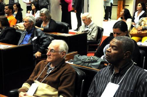 No ano passado, foi realizado o Ciclo de Debates 10 Anos do Estatuto do Idoso - Arquivo/ALMG