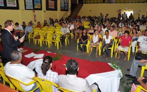 A audiência contou com a presença de integrantes de entidades do Vale do Jequitinhonha