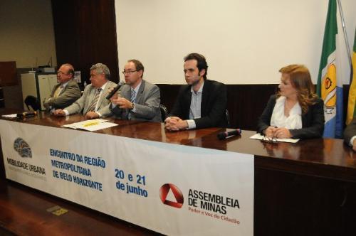 Luiz Antônio Vasconcelos, Ivair Nogueira, Paulo Lamac, Adrian Machado Batista e Maria da Consolação Campos Galvão