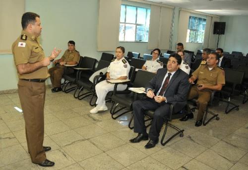 Comissão de Segurança fez visita ao Hospital da Polícia Militar em 2015 - Arquivo/ALMG