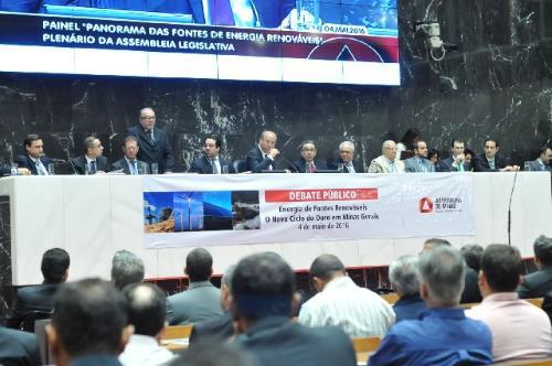 Participantes do debate público defenderam a complementaridade entre fontes renováveis