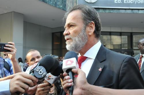 """""""Esperamos que as condenações sejam superiores a 200 anos de prisão"""", disse Durval Ângelo"""