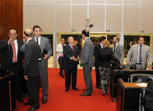 A mensagem do governador foi lida na Reunião Ordinária de Plenário desta terça