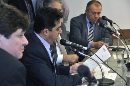 Na última reunião sobre o tema, o presidente da comissão leu ofício da PM justificando a ausência dos policiais