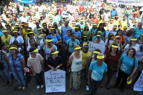 Em novembro de 2013, um ato público em Sete Lagoas marcou o apoio às Apaes - Arquivo/ALMG