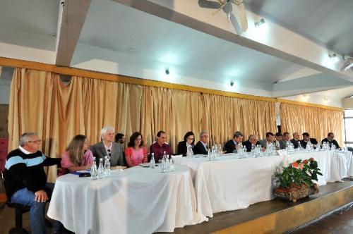 A audiência pública da Comissão de Turismo foi realizada no Clube do Botafogo, em Baependi