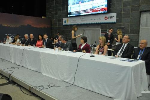 Parlamentares falaram sobre a necessidade de se fazer uma boa administração dos recursos hídricos