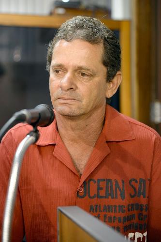 Luiz Alvesmar Alves contou que o assentamento abriga cerca de 300 pessoas