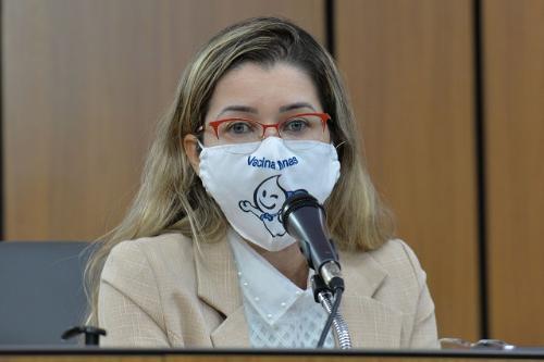 Segundo Josiane Dias, a taxa de vacinação geral das forças de segurança, armadas e de salvamento estaria acima do previsto